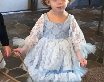 Made to Order Flower Girl Gown