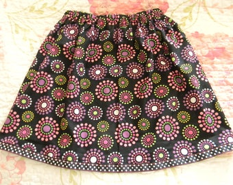 Girl's Polka Dot Whimsy Skirt Handmade