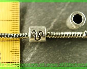 Pearl European N102 Aries sign astologique for bracelet charms