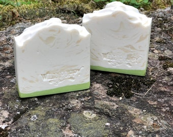 Baby's Breath Soap / Artisan Soap / Handmade Soap / Soap / Cold Process Soap