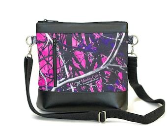 Muddy Girl Crossbody Bag - Crossbody Purse - Sling bag - Cross Body bag - Camo purse - Muddy Girl Camo - Cute purse