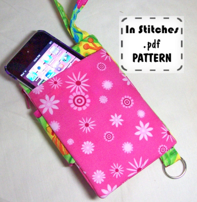 Small Wallet Wristlet PDF Pattern DIY Clutch Instructions from ...