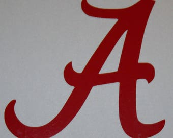 """Alabama """"A"""" Decal"""