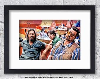 The Big Lebowski - Mounted & Framed Print