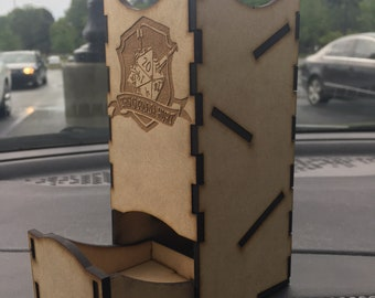 Wooden Dice Tower