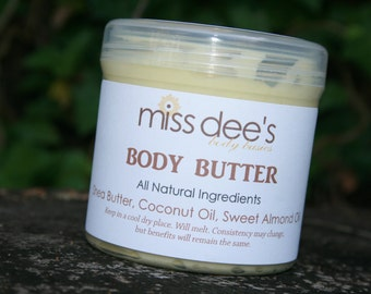 Handcrafted. All Natural Body Butter