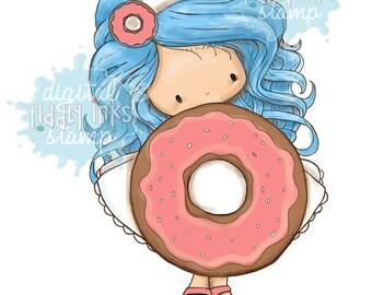 Molly's Donut | Digital Stamp
