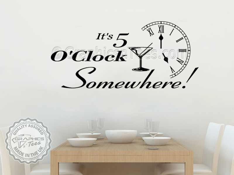 Its 5 Oclock Somewhere Funny Kitchen Dining Room