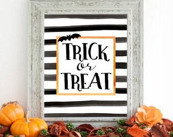 Halloween Printable / Halloween Decor / Halloween Wall Art / Halloween Sign / Halloween Party / Halloween Print / Halloween Decorations