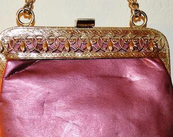 Vintage Faux Leather Bag