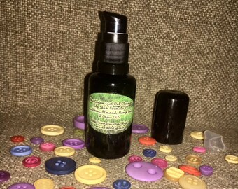 Customizable Cleansing Oil Makeup Remover Dry Skin Deep Pore Facial Cleanser Sunflower Almond Hemp Olive Face Wash 1.5 oz Pump EOs of Choice