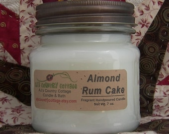 ALMOND RUM CAKE Candle - Strong - Last Ones