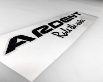 Ardent - Bass Boat Carpet Graphic - Decal Logo