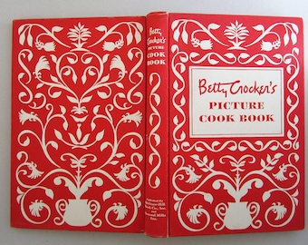 BETTY CROCKER'S Picture Cook Book 1950 Hardcover First Edition, Sixth Printing