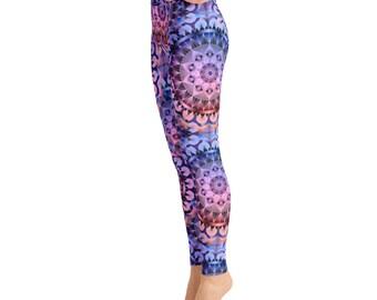 Mandala Print Yoga Leggings