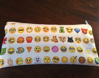 Emoji Coin Purse or Pencil/Makeup bag