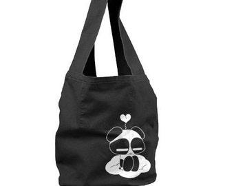 Kawaii Panda bag Japanese panda on a cloud bag cute girls bag kawaii gift
