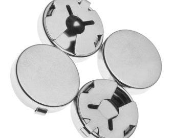 Round Locking Button Covers for Shirt Buttons (10)