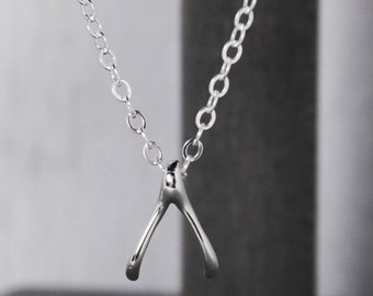 Wishbone Nekclace - Lucky Necklace - Wish bone Necklace