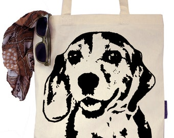 George the Beagle - Eco-Friendly Tote Bag