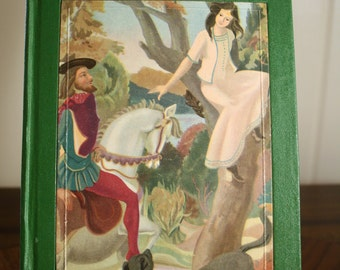 DISCOUNTED Vintage Book - A Selection of sixteen Grimms' fairy Tales