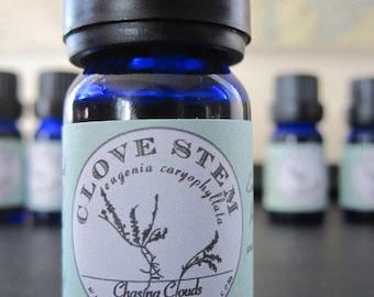 Clove Stem Essential Oil - Certified Organic