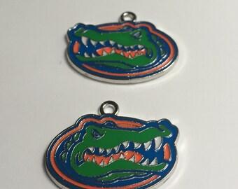 Florida Gator Charm, UF Charm, University of Florida Charm