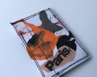 Thin wallet, slim wallets, credit card holder, skinny wallet, Paris wallet