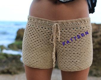 Crochet shorts pattern Beginner crochet patterns Summer shorts tutorial Crochet pattern Girls shorts pattern