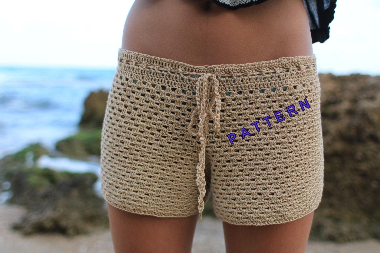 Crochet shorts pattern beginner crochet patterns summer shorts zoom bankloansurffo Gallery