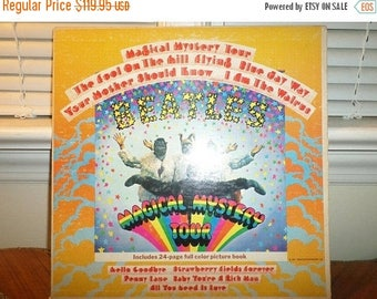 Save 30% Today Vintage 1967 LP Record The Beatles Magical Mystery Tour Stereo Excellent Condition 12738