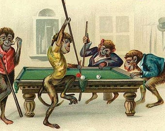 Barrel of Monkeys playing