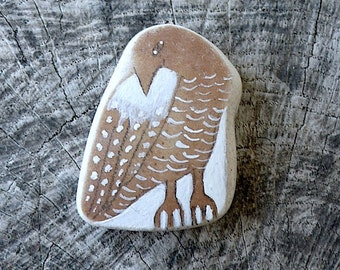 Beach Pottery Bird