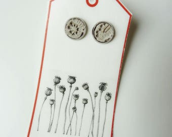 Earring-Dream in leather, different colors
