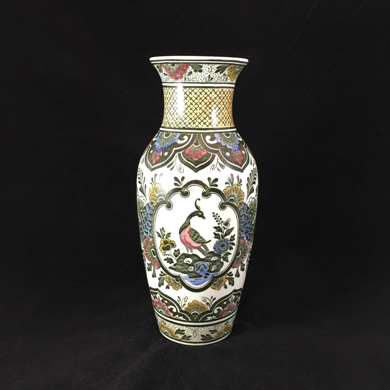 Vintage villeroy boch paon vase peacock zoom reviewsmspy