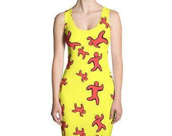 Jogger Pencil Dress
