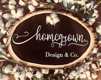 MS - Custom baby shower sign / wood Sign, farmhouse style decor, baby gift