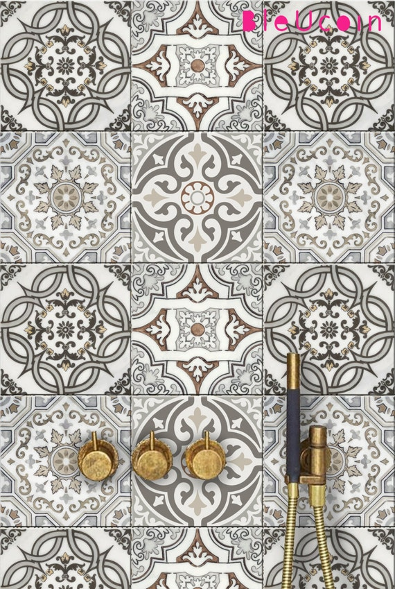 Art Deco Kitchen Bathroom Backsplash Tile Wall Stair Floor