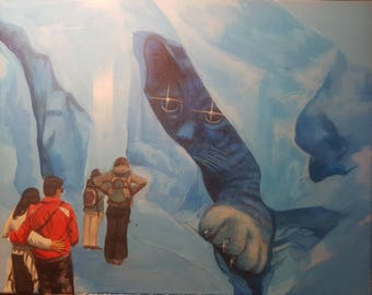 The Ice Catverns of Oslo Norway
