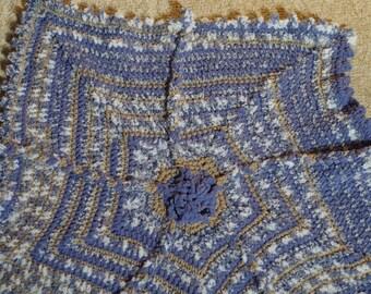Star Baby Blanket-Blue