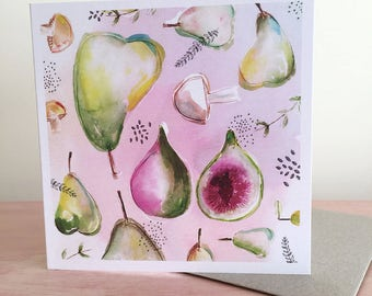 Greeting Card - Autumn Collaboration with Julia Reader