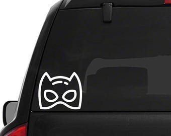 Catwoman Themed Super Hero Decal DC Comics