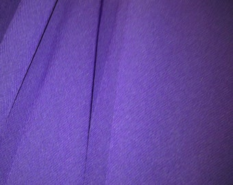 Purple Georgette Lightweight Fabric X One Metre