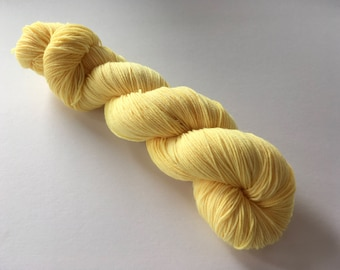 Semi Solid Hand Dyed Superwash Merino/ Nylon Sock Yarn
