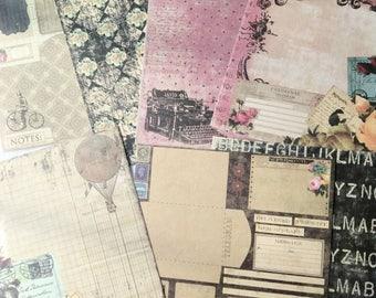 Sampler Prima Marketing Romance Novel 6 x 6 Paper Sampler