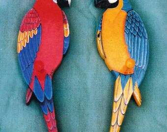 Macaw Folk Art Patterns