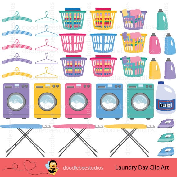 How To Profit From A Home Sewing Business: Laundry Day Clipart, Laundry Clip Art, Washing Machine