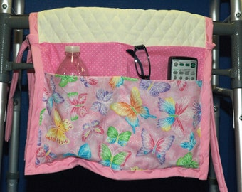 Walker Bag / Hospital caddy / purse / tote / grandmother / Walker Tote Purse / Assisted Living / Wheelchair Bag /mobility tote / accessories