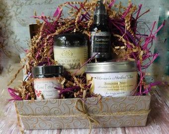 Woman's Gift Basket -