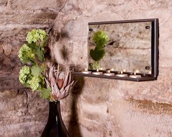 Landscape Tea Light Mirror